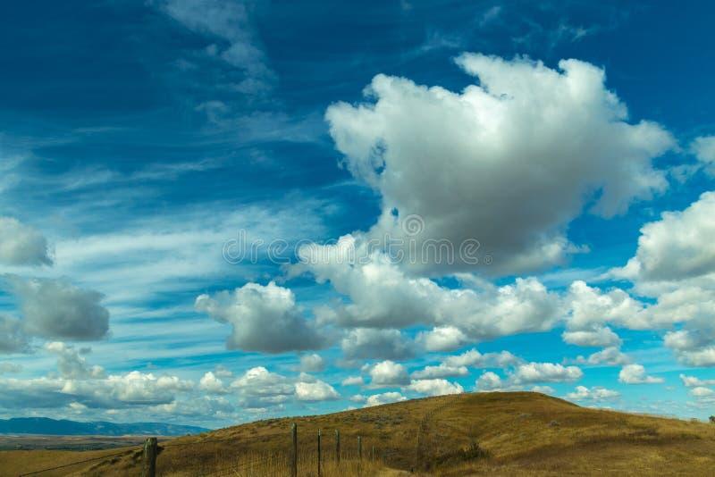 Sheridan Wyoming Landscape immagine stock libera da diritti