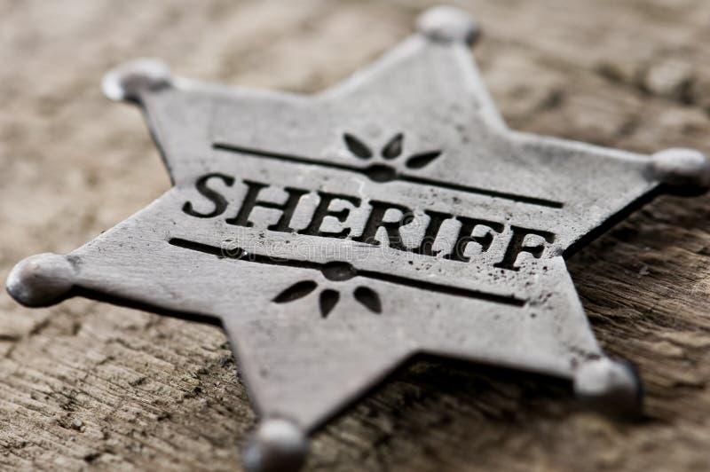 sheriff royaltyfri foto