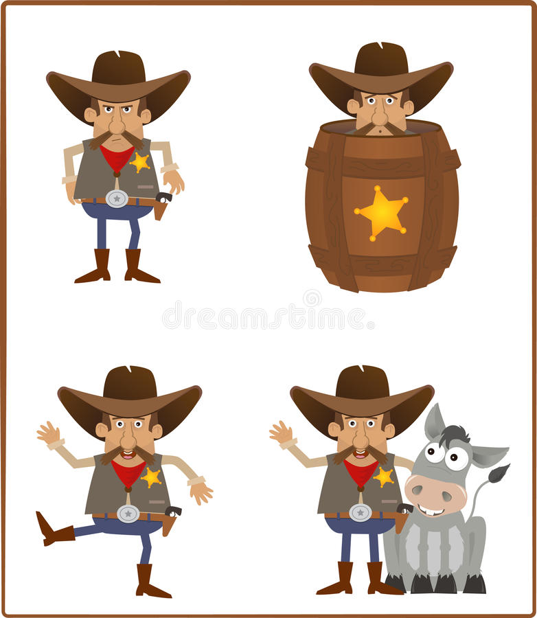 Sheriff stock illustration