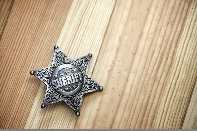 sheriff arkivfoton