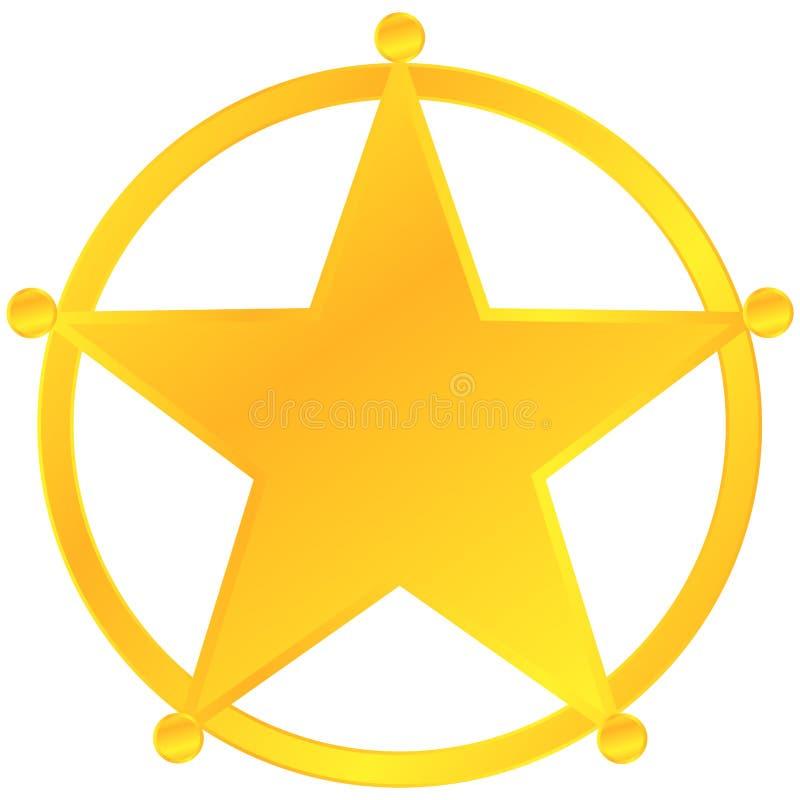 Free Sheriff Badge Stock Photography - 27747702