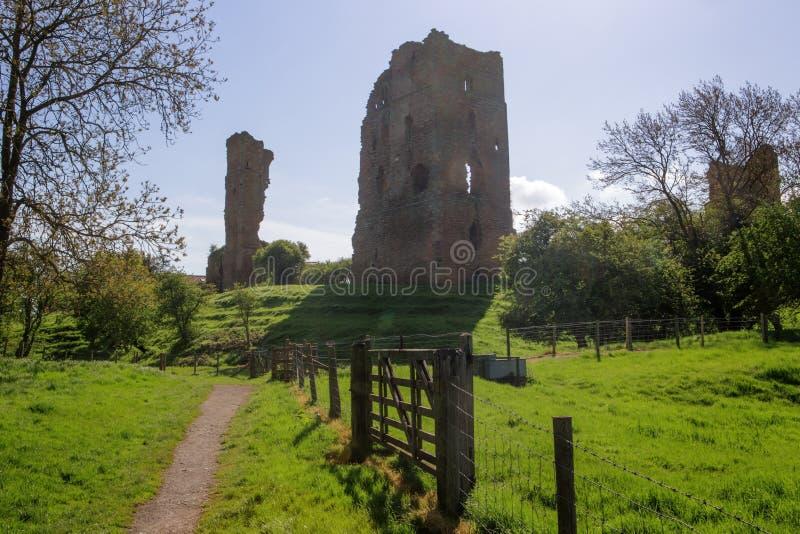 Sheriff Hutton Castle fotografía de archivo libre de regalías