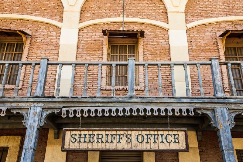 Sheriff Office royalty-vrije stock foto