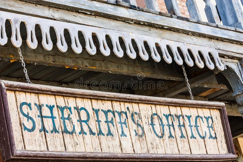 Sheriff Office stock fotografie