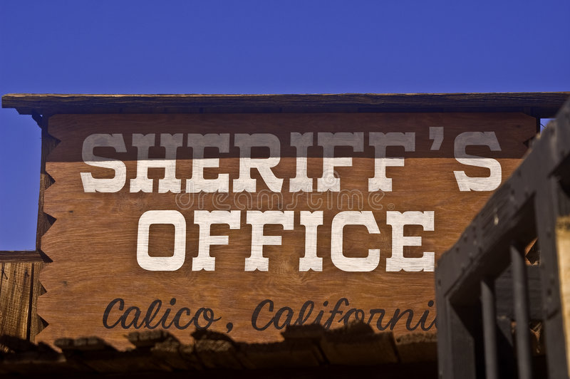Download Sheriff's Office stock photo. Image of order, west, mining - 6340294