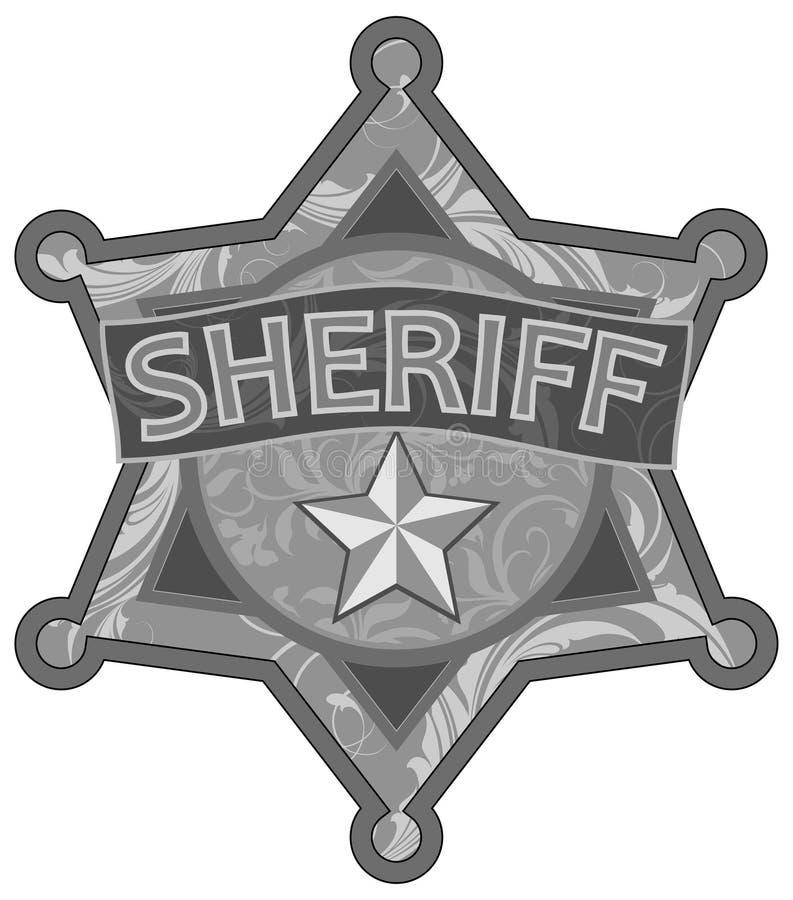 Sheriffster stock illustratie