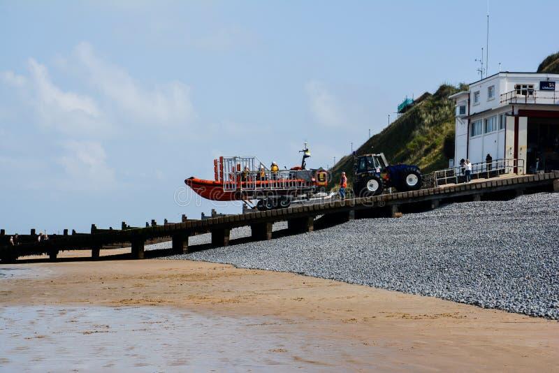 Sheringham Lifeboat obrazy stock