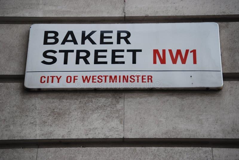 Sherlock Лондон стоковые фото
