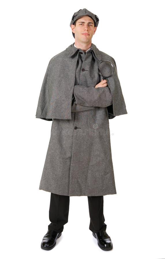Sherlock: Сыщицкий подготавливайте для того чтобы расследовать тайны стоковое фото