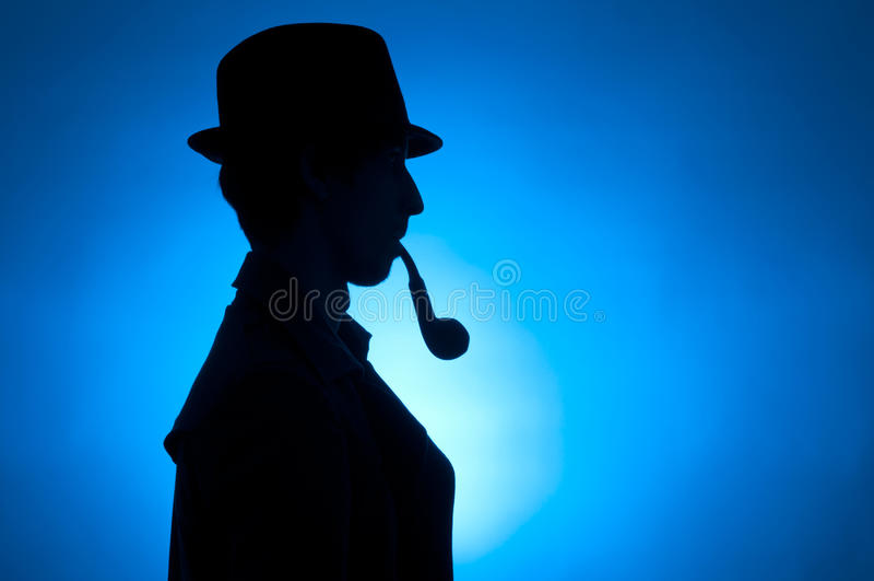 Sherlock Holmes fotos de stock royalty free