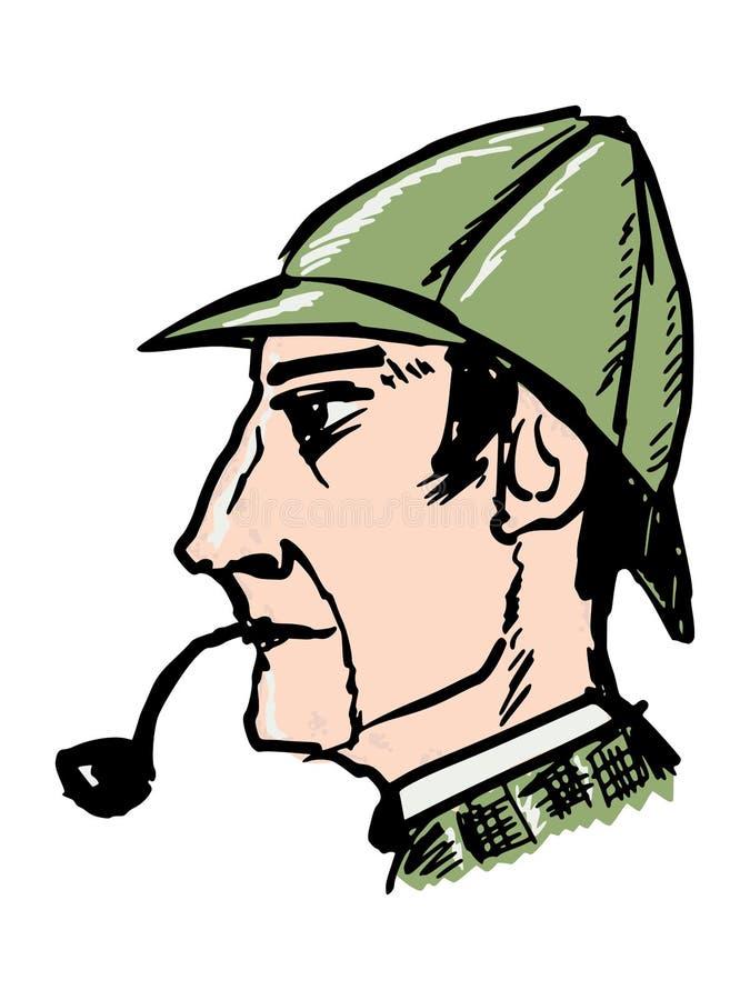 Sherlock Holmes 库存例证