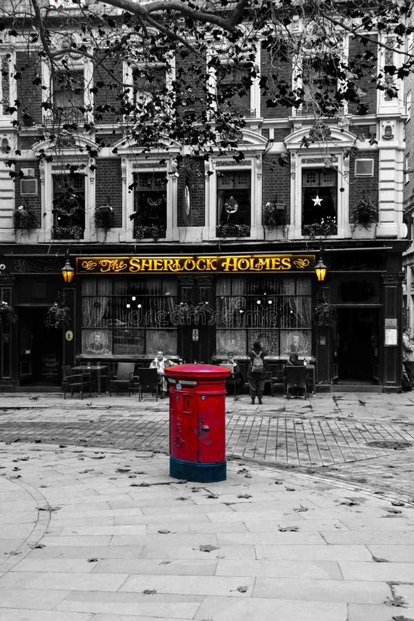 Sherlock Holmes стоковая фотография rf
