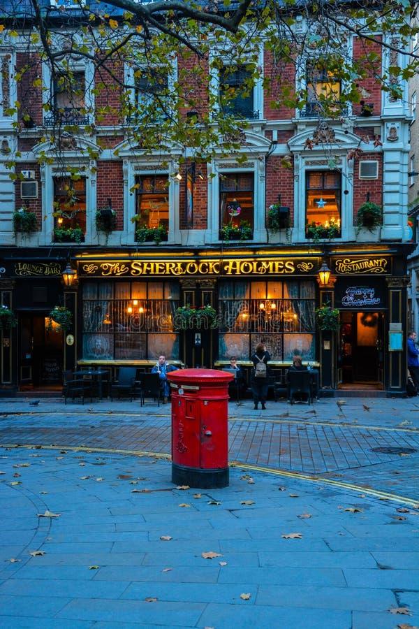 Sherlock Holmes fotografie stock libere da diritti
