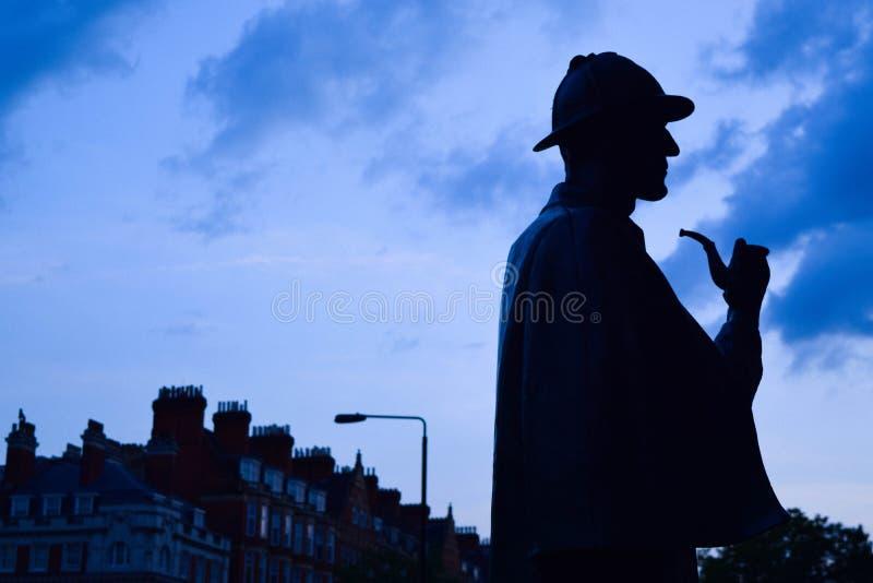 Sherlock Holmes стоковые фотографии rf