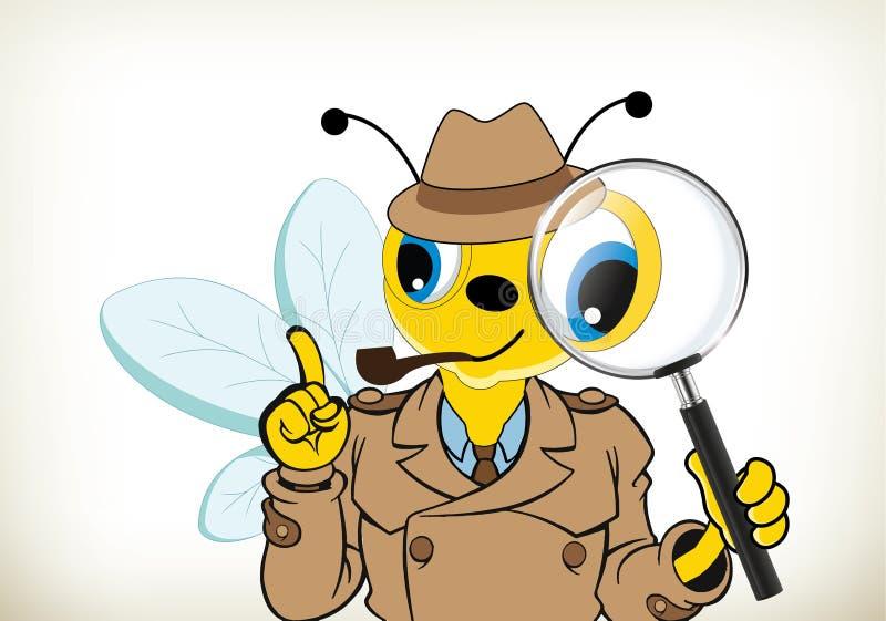 Sherlock pszczoła ilustracji
