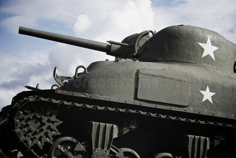 Sherman behållare arkivbilder