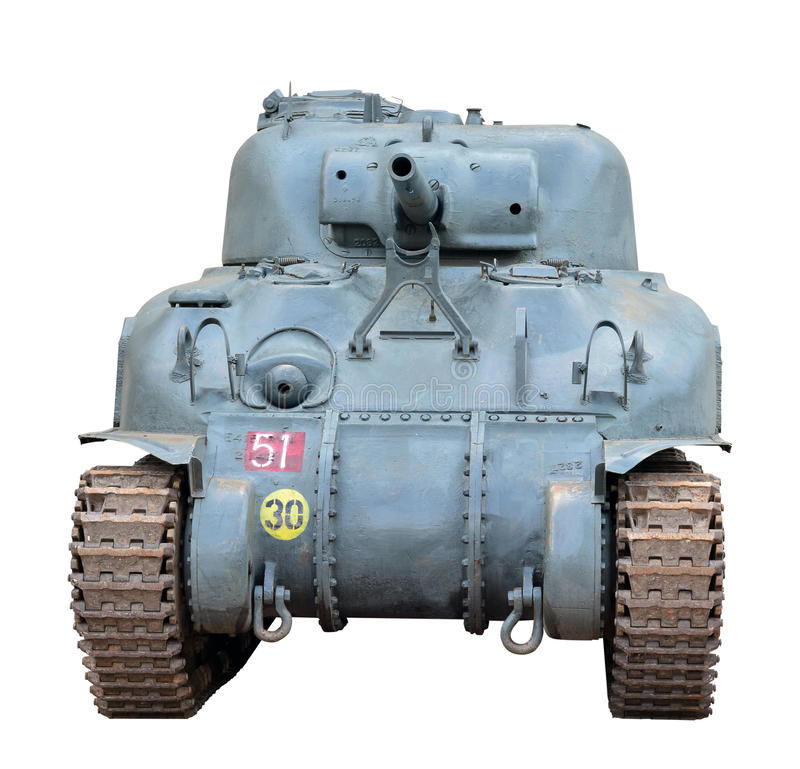 Free Sherman Tank Royalty Free Stock Photos - 36531978