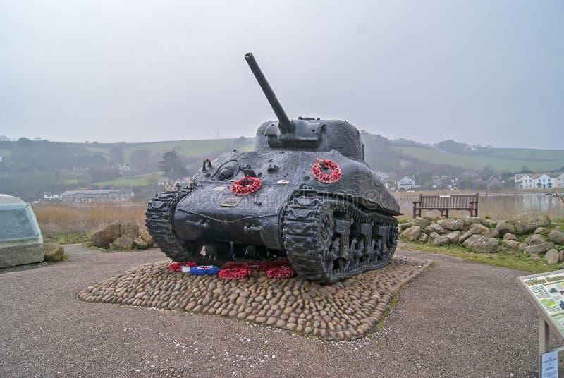 Sherman tank stock images