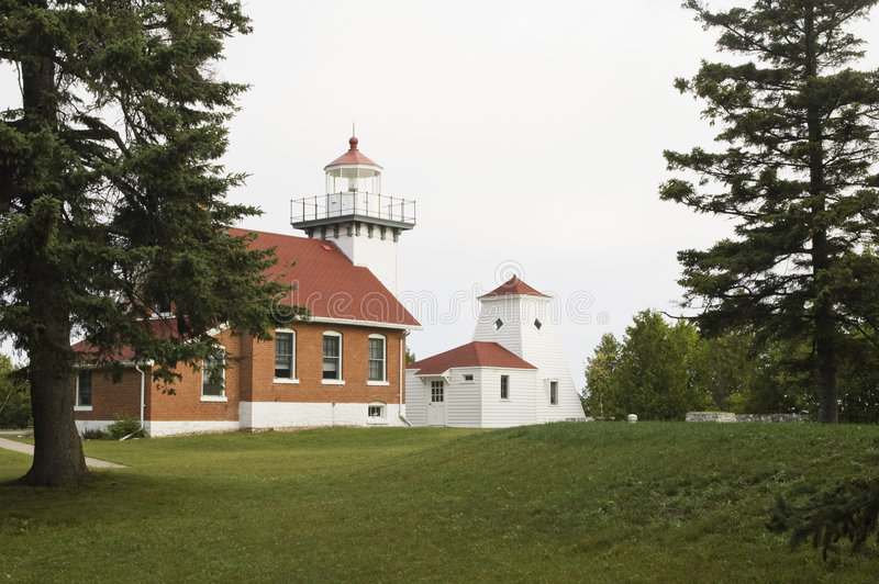 Sherwood Point Lighthouse royalty free stock images