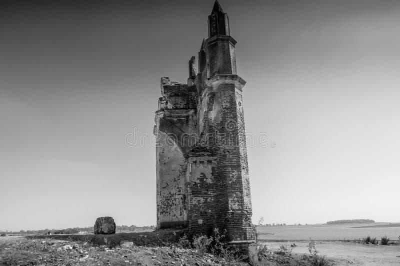 Shettyhalli kościół przy Hassan pięknym krajobrazem zdjęcia royalty free
