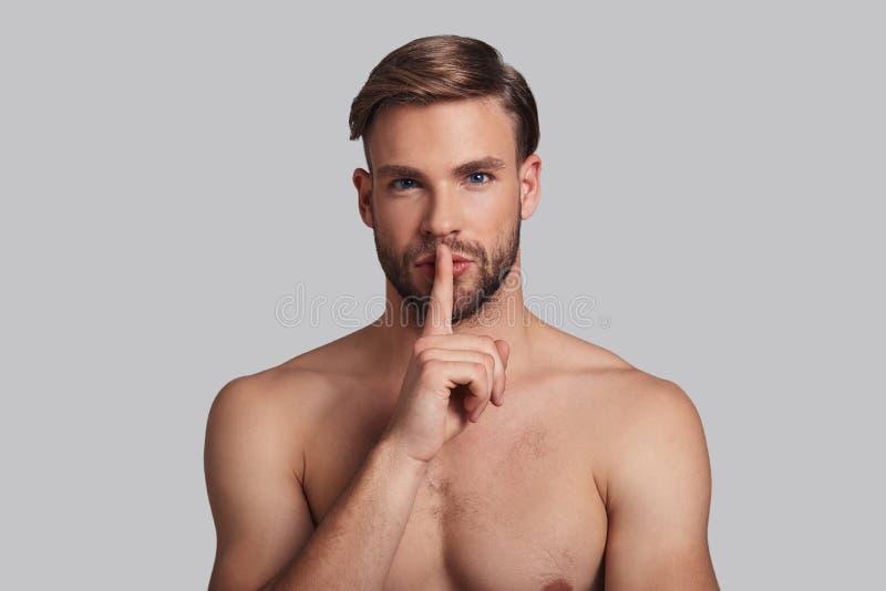 Shhh obraz royalty free
