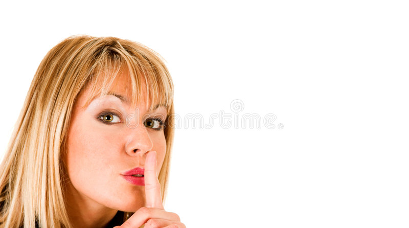 Download Shhhh stock image. Image of healthy, advert, business - 3017351