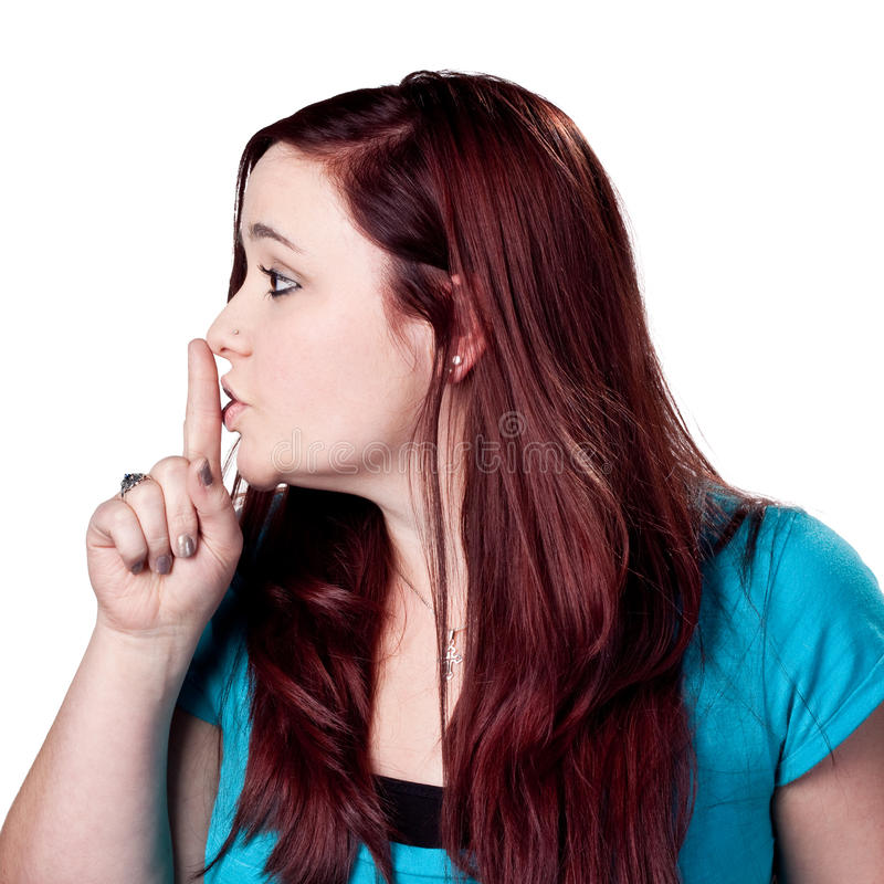 Download SHHHH Be Quiet! Royalty Free Stock Photo - Image: 13937425