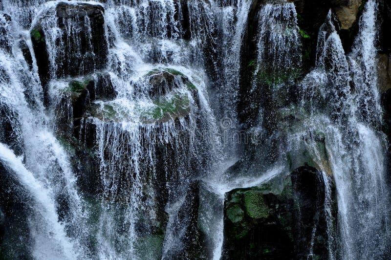 Shi Fen Waterfall em Taiwan fotografia de stock royalty free