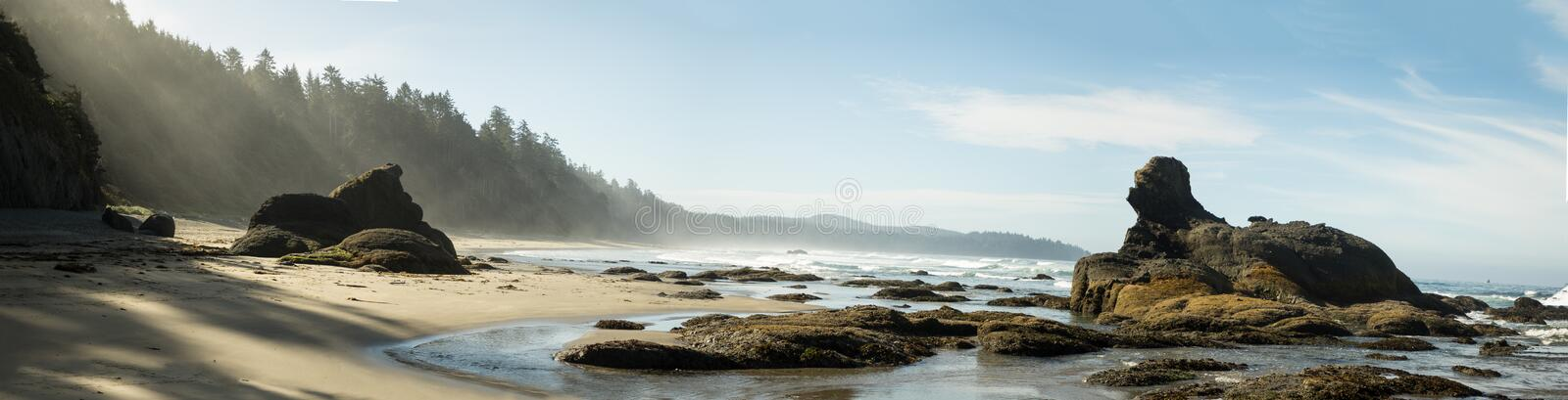 Shi Shi Beach. In all of its glory royalty free stock images