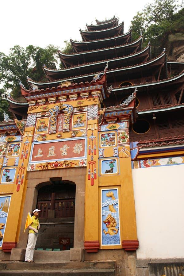 shibaozhai pagoda фарфора уникально стоковые изображения
