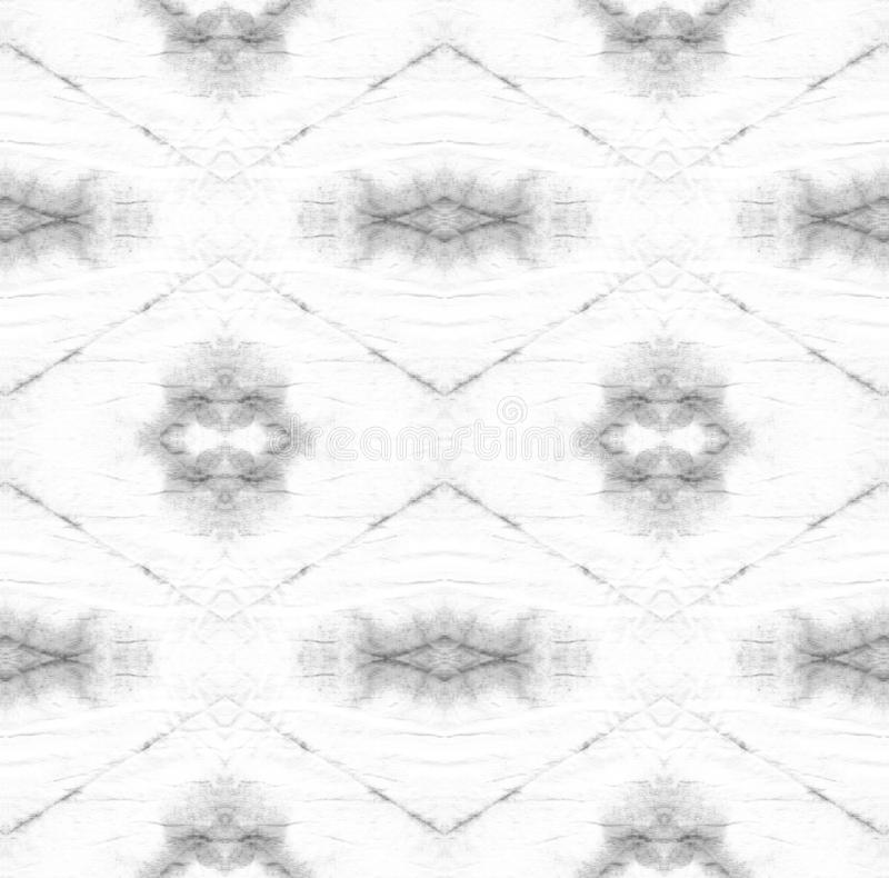 Tie Dye Pattern. Shibori seamless print. Black and White Watercolor hand drawn batik. Summer ink japan illustration. Handmade watercolour shirt tie dye pattern stock photo