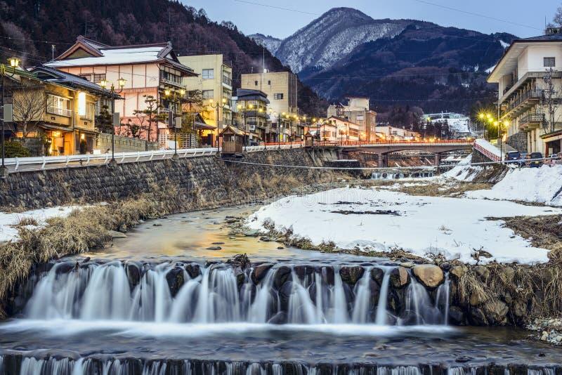 Shibu Onsen, Japão fotos de stock royalty free