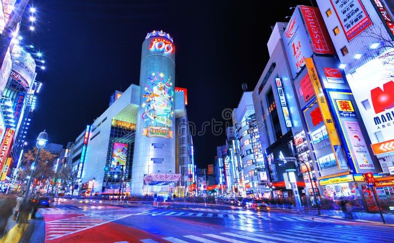 Shibuya 109 库存图片