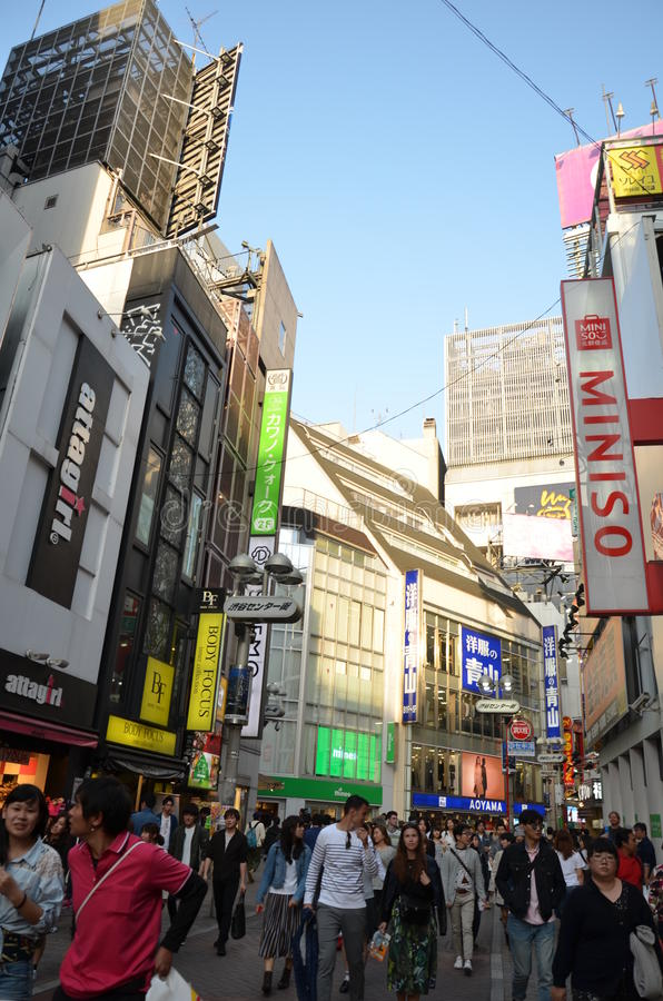 Shibuya royalty-vrije stock afbeelding