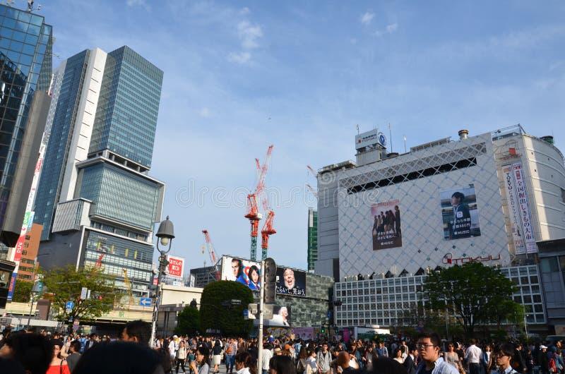 Shibuya royalty-vrije stock fotografie
