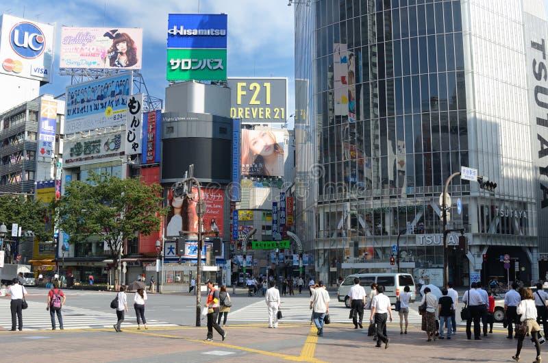 Download Shibuya Crossing editorial stock photo. Image of city - 20527018