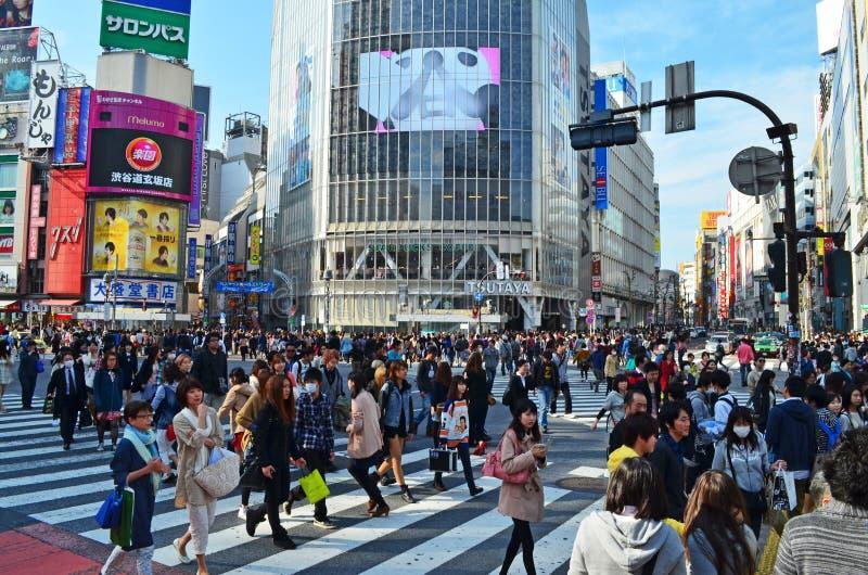 Shibuya Crossing Tokyo stock image