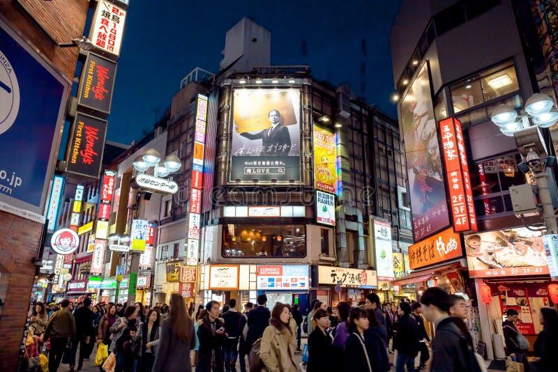 Shibuya fotografering för bildbyråer