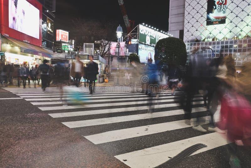 Shibuya Skrzyżowanie fotografia stock