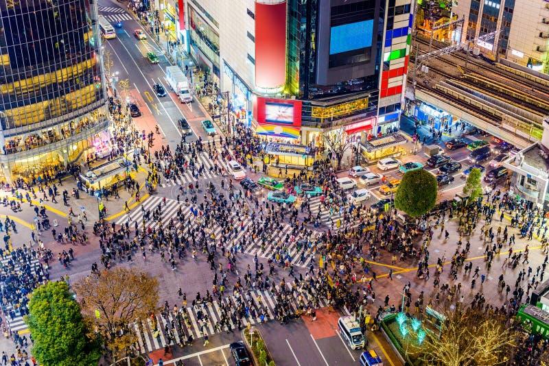 Shibuya, Tokyo, Japan royalty-vrije stock foto's
