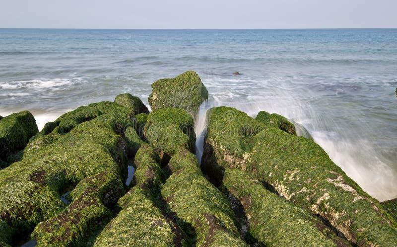Shicao de Laomei de la costa de Taiwán imágenes de archivo libres de regalías