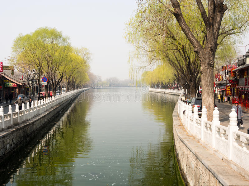 Shichahai lakes, Beijing royalty free stock photography