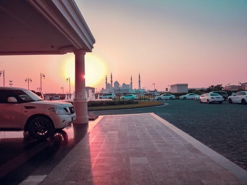SHIEK ZAYED meczet zdjęcia stock