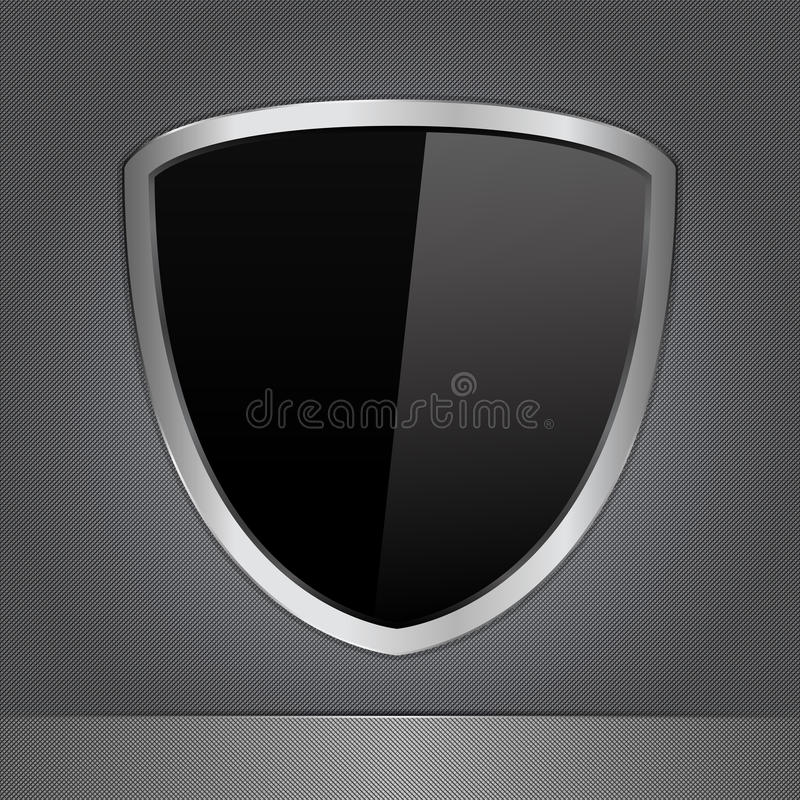 Download Shield stock vector. Image of protect, dark, light, plaque - 22747579