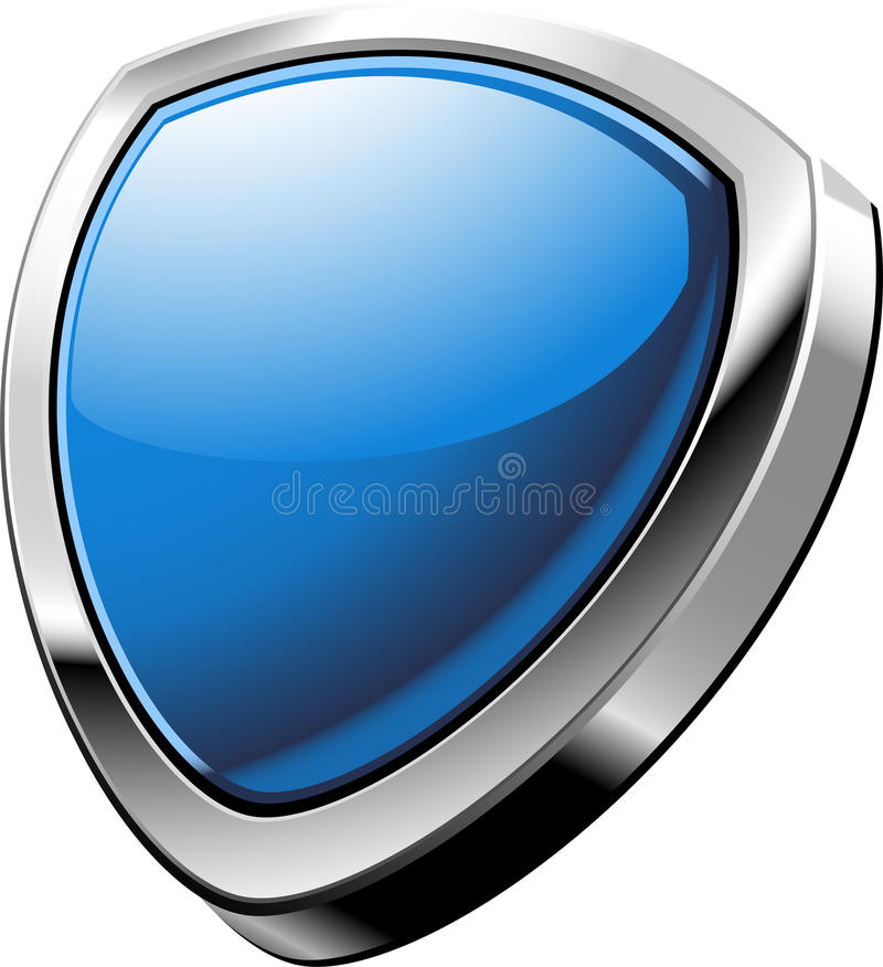 Download Shield stock vector. Image of color, shiny, empty, painting - 26029529