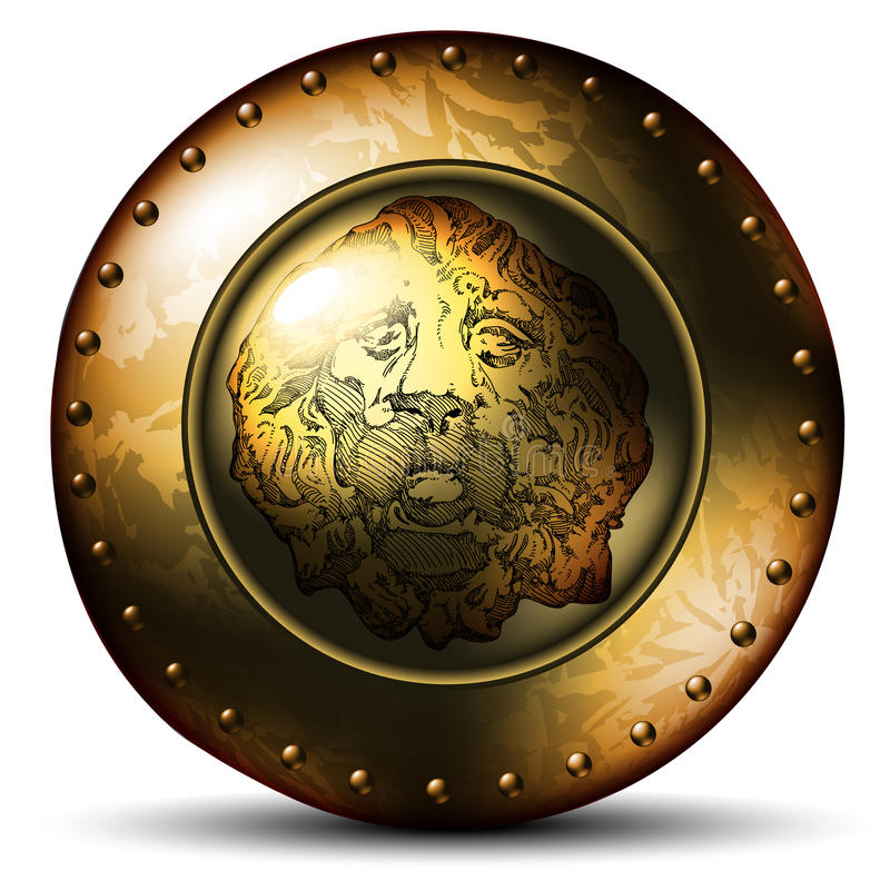Download Shield Ancient With Lion Stock Photos - Image: 20187923