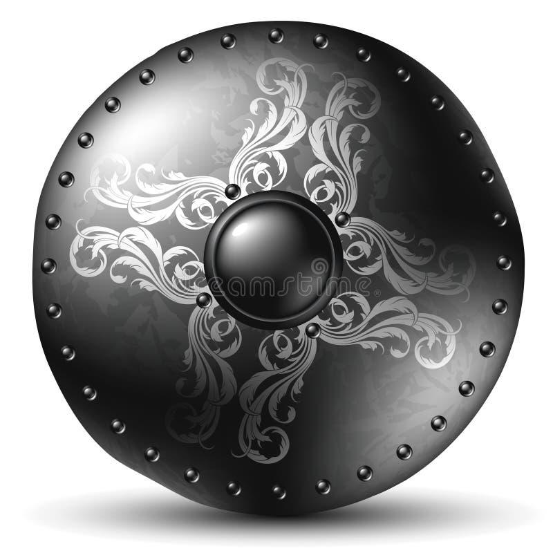 Shield celtic royalty free illustration