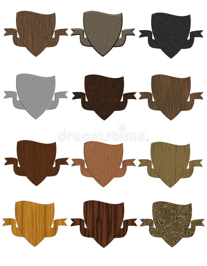 Download Shield Collection Royalty Free Stock Photo - Image: 32414495