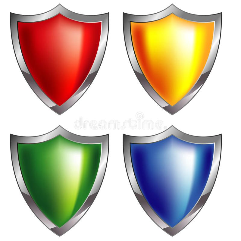Download Shield icon stock vector. Image of blank, blue, icons - 27589071
