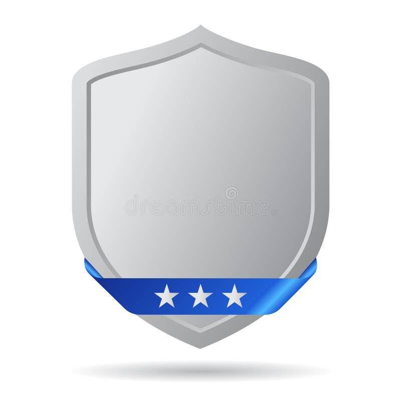 Shield icon royalty free illustration